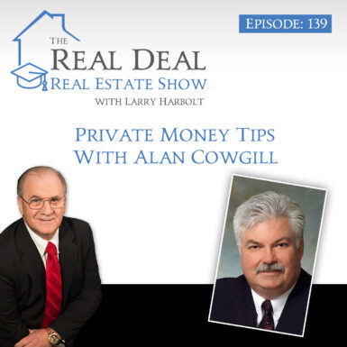 139 – Private Money Tips With Alan Cowgill