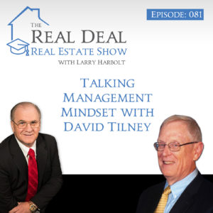 Talking Management Mindset with David Tilney